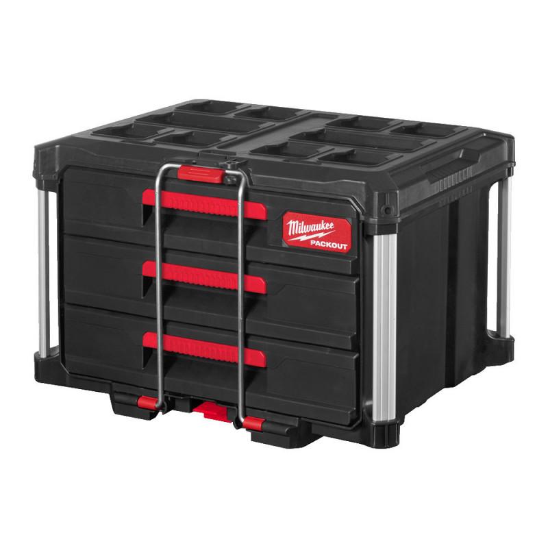 Milwaukee box na náradie s 3 zásuvkami