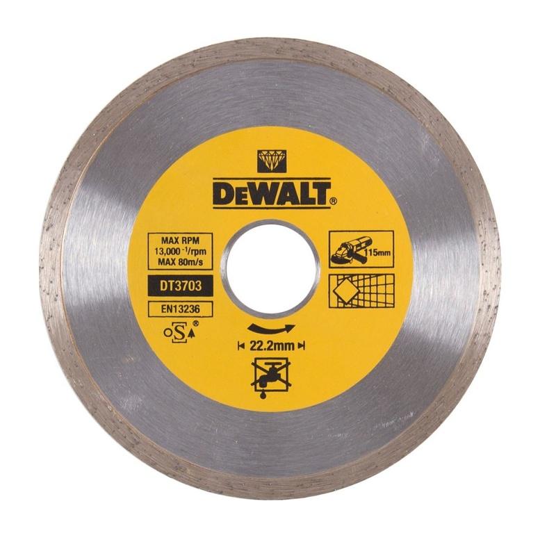 DeWALT rezný kotúč na obklady a dlažbu