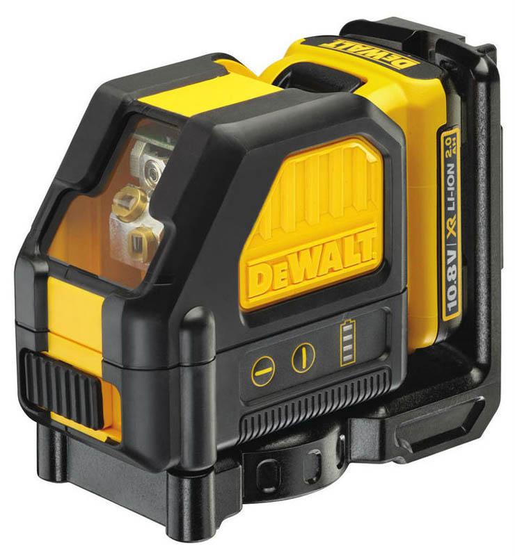 DeWALT DCE088D1R zelený čiarový laser