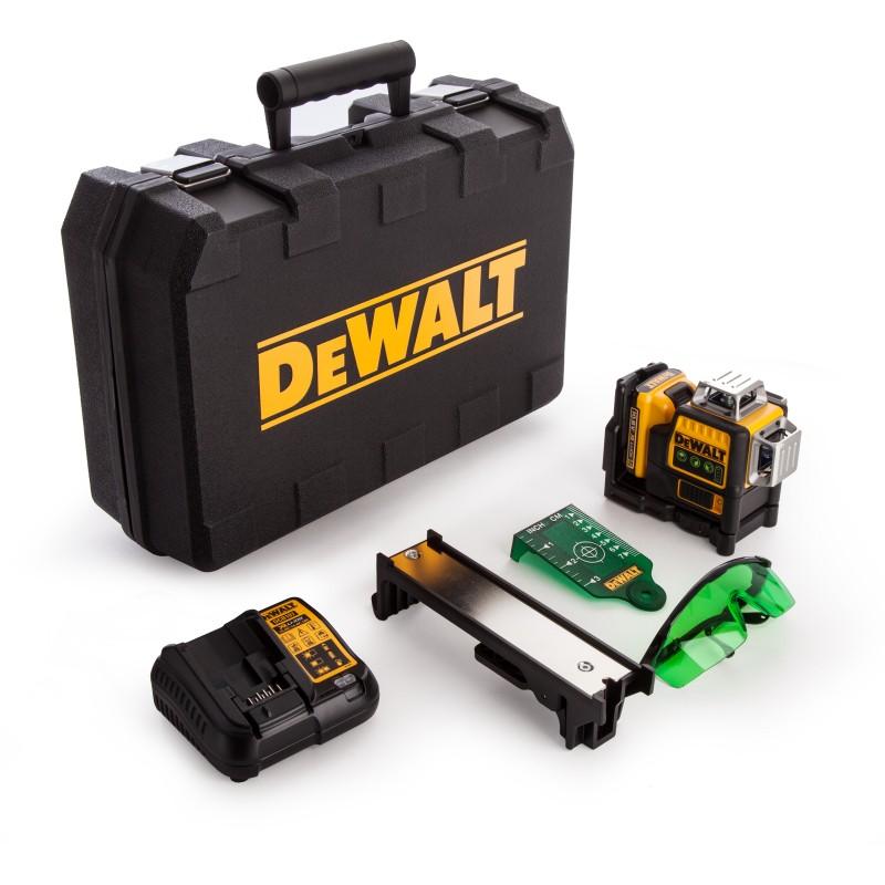 DeWALT zelený laser