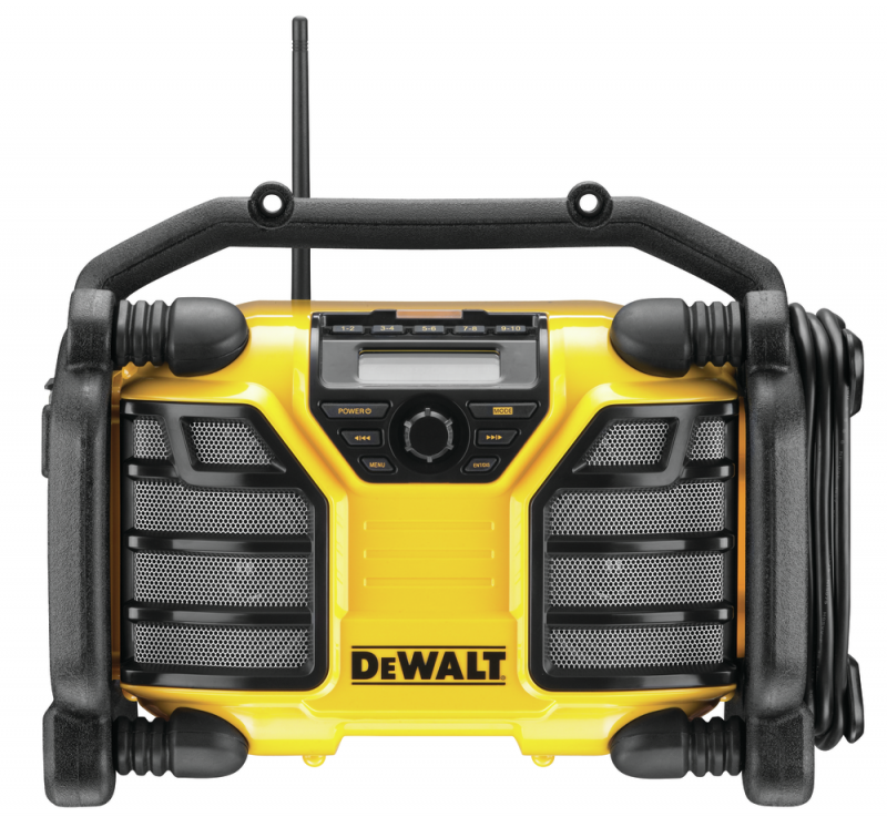 DeWALT aku batériové a sieťové rádio