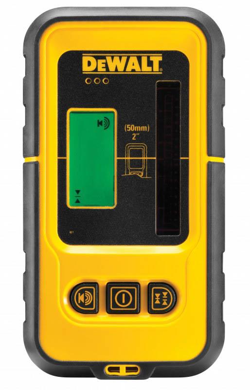DeWALT laserový prijímač 50 m so zeleným laserom