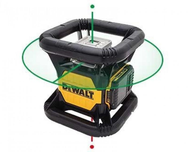 DeWALT zelený rotačný laser