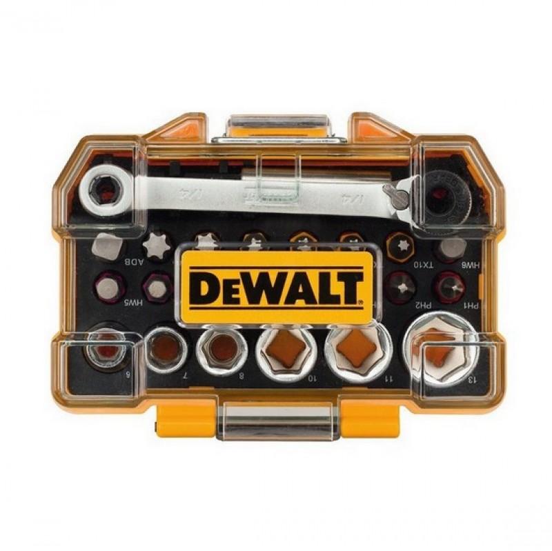 24-dielna sada bitov a hlavíc DeWALT