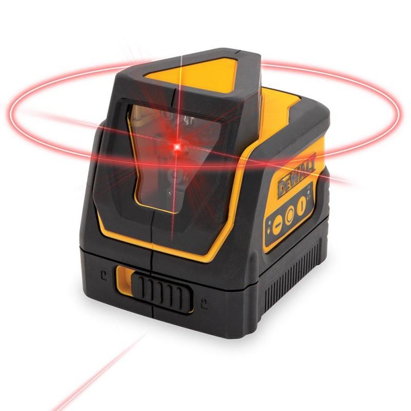 DeWALT krížový laser + 360