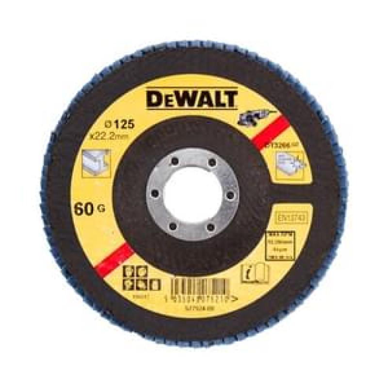 DeWALT DT3266 Brúsne kotúče pre uhlové brúsky ø 125 mm, P60