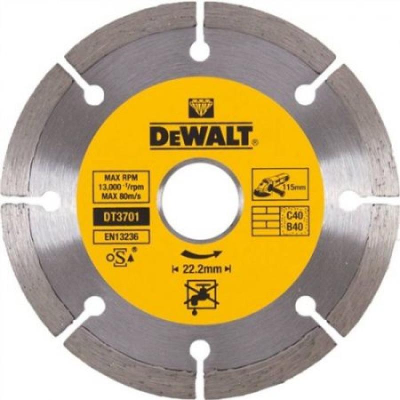 DeWalt DT3701 diamantový rezný kotúč na tehlu a betón 115mm