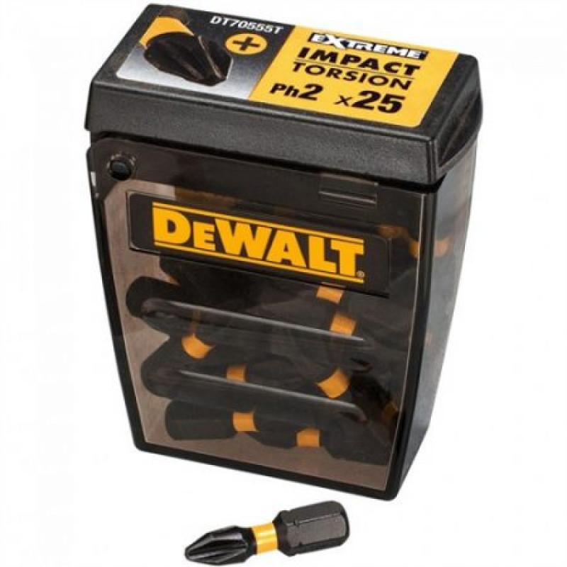 DeWALT DT70555T Sada bitov, 25 ks