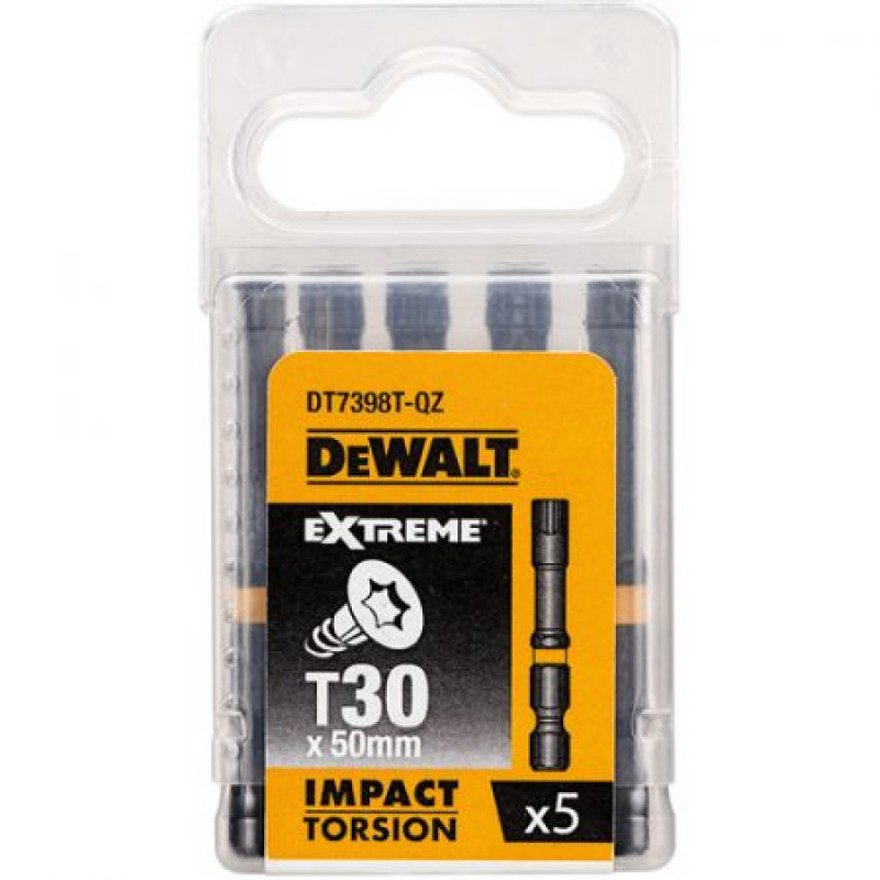 DeWALT DT7391T BITY PZ2 x 5 KS 50MM IMPACT TORSION EXTREME
