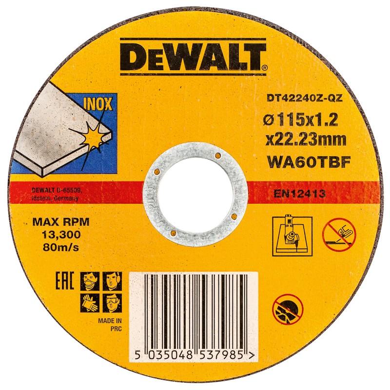 DeWALT rezný kotúč 115 x 1.2 mm
