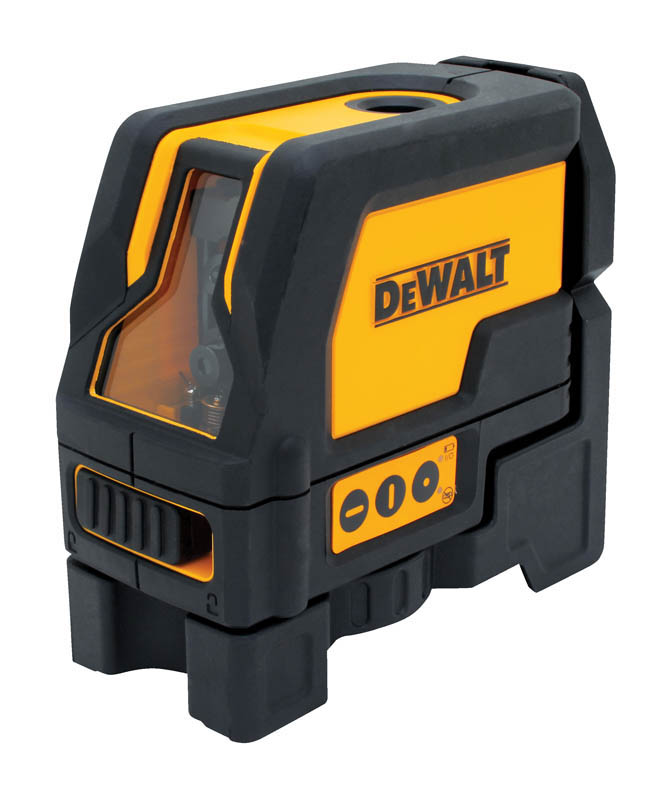 DeWALT laser s laserovým krížom a s zvislým bodom