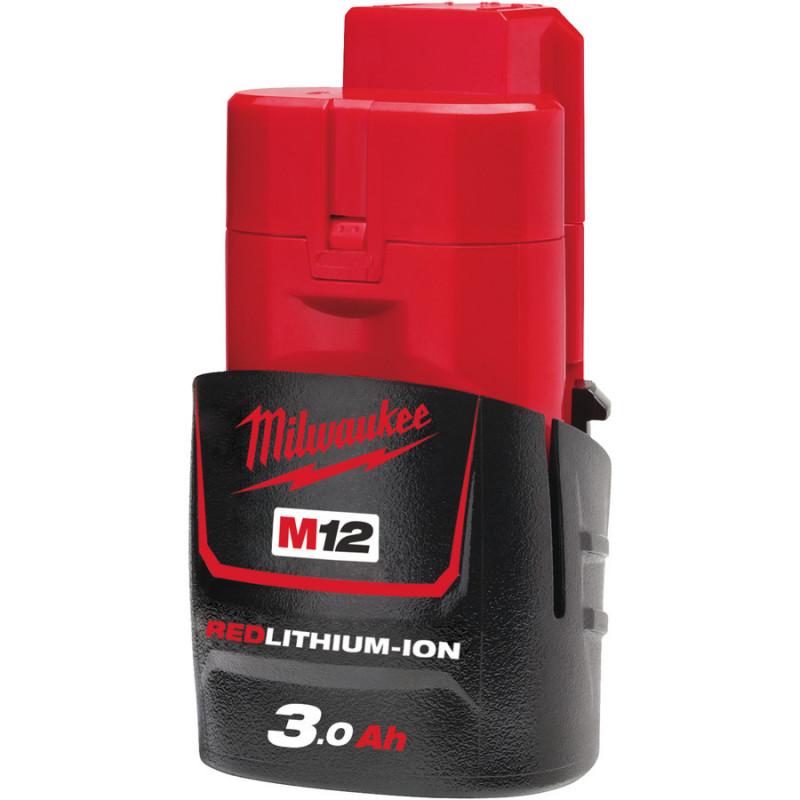 Milwaukee M12B3 REDLITHIUM™ 3.0 Ah akumulátor
