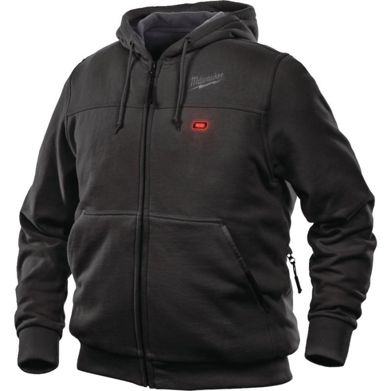 Milwaukee GRIDIRON™ čierna bunda s kapucňou